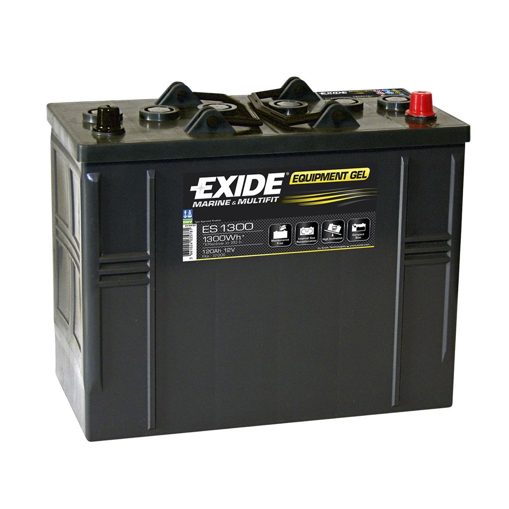 exide leisure battery equipment gel es1300 low cost. Black Bedroom Furniture Sets. Home Design Ideas