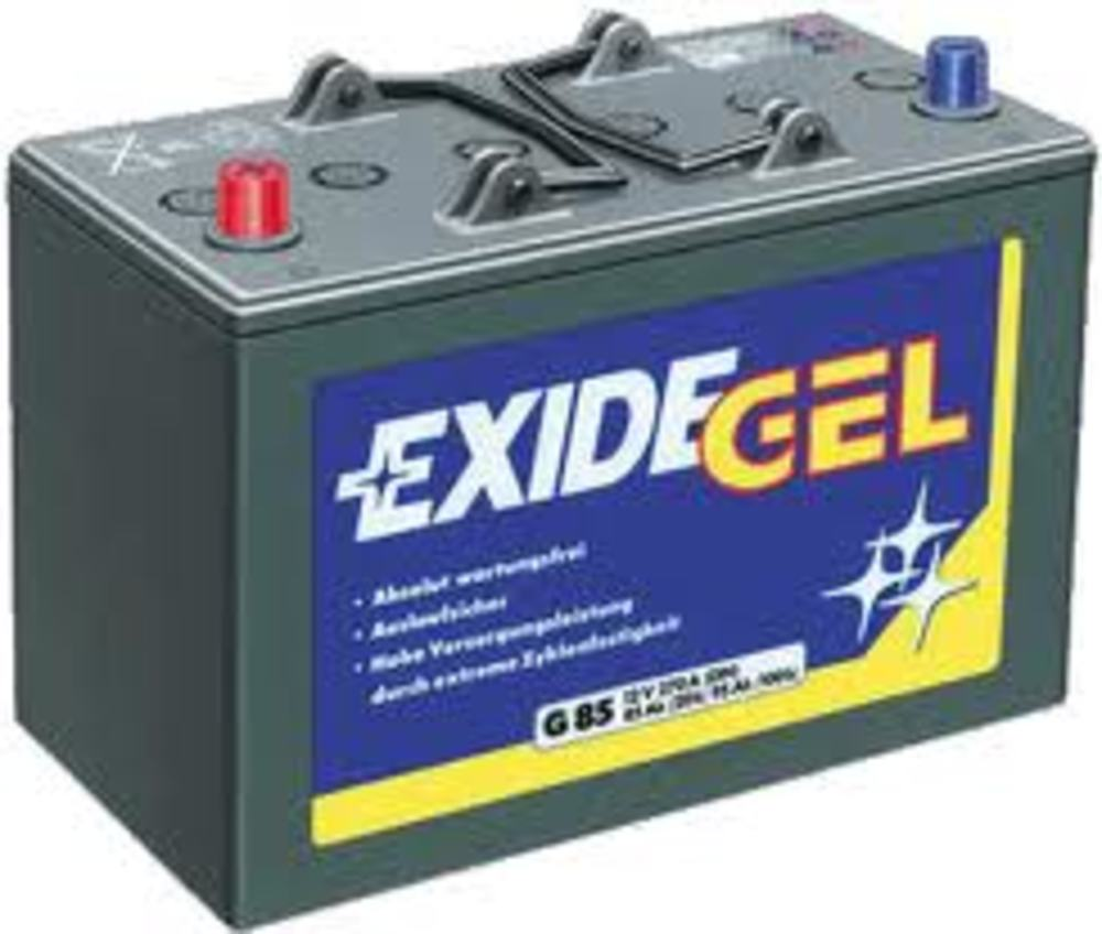 exide gel battery es950 es950 gel low cost batteries online. Black Bedroom Furniture Sets. Home Design Ideas