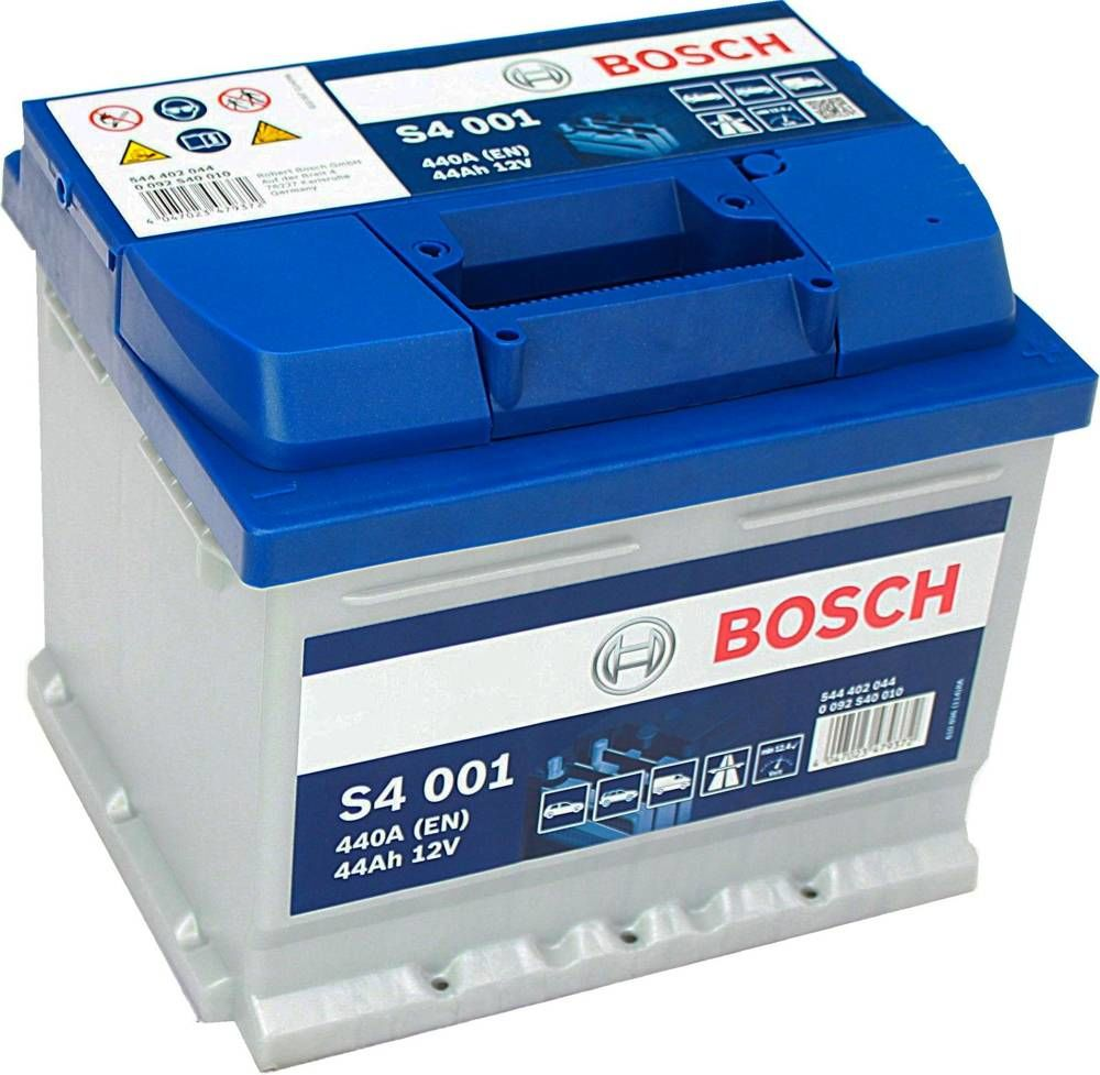 s4 001 bosch car battery 12v 44ah type 063 s4001. Black Bedroom Furniture Sets. Home Design Ideas
