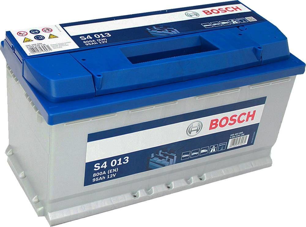 s4 013 bosch car battery 12v 95ah type 019 s4013. Black Bedroom Furniture Sets. Home Design Ideas