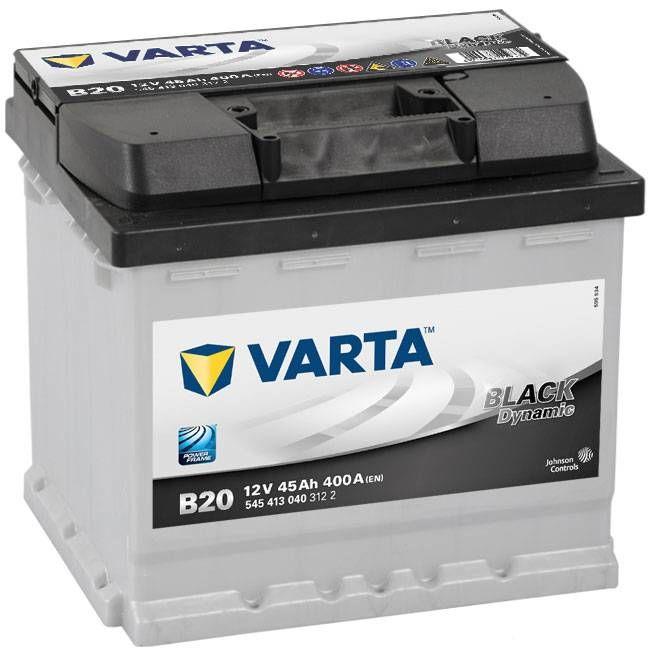 Varta Car Batteries New Powerframe 077 / B20 (545413040) Low Cost ...