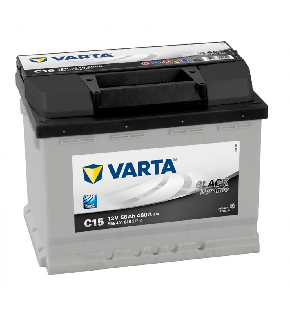 varta car battery new powerframe 078 c15 556401048 low. Black Bedroom Furniture Sets. Home Design Ideas