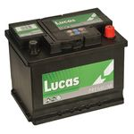 Lucas Car Battery HB027 / HCB027 / LP027 LUCAS PREMIUM