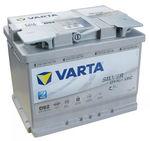 Varta D52 AGM Start Stop Car Battery 12v 60ah Type 027