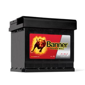 Banner Car Battery Power Bull Type 012 (P5003)