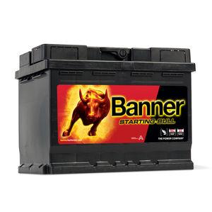 Banner Car Battery Starting Bull Type 027 (56219)