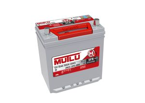 Mutlu Car Battery Type 055