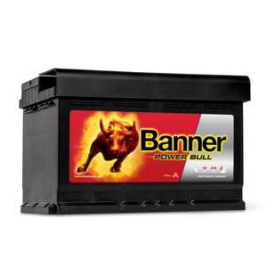 Banner Car Battery Power Bull Type 096 (P7412)
