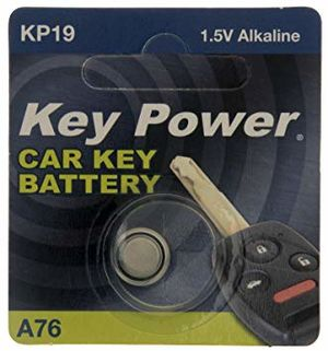 KEY POWER CAR KEY BATTERY A76 KP19 1.5V ALKALINE