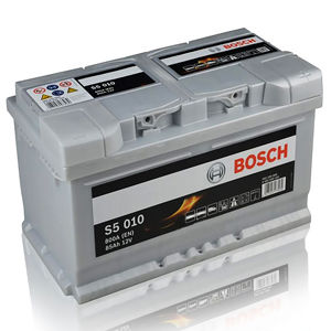 S5 010 Bosch Car Battery 12V 85Ah Type 110 S5010