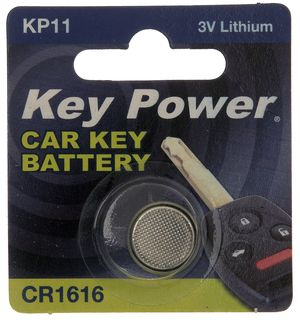 KEY POWER CAR KEY BATTERY KP11 3V LITHIUM