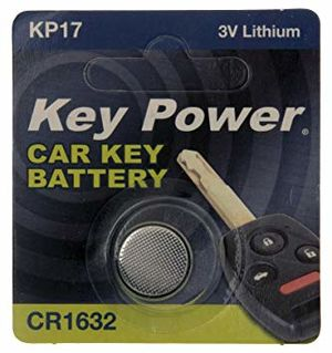 KEY POWER CAR KEY BATTERY KP17 3V LITHIUM