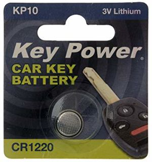 KEY POWER CAR KEY BATTERY KP10 3V LITHIUM
