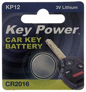KEY POWER CAR KEY BATTERY KP12 3V LITHIUM