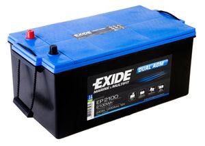 Exide Leisure Battery Dual AGM EP2100