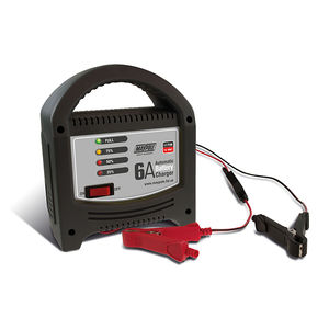 Battery Charger 6A - 12V - LED Automatic 20ah-80ah