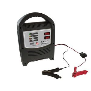 Battery Charger 8A - 6V/12V - LED Automatic for 20ah-100ah Batteries