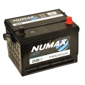 Numax Car Battery AM058L NUMAX  PREMIUM SILVER & HGV 12 VOLT RANGE