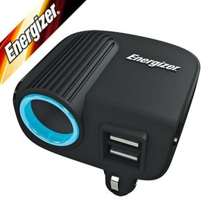 ENERGIZER TWIN USB CHARGER ADAPTOR