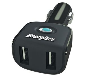 ENERGIZER TWIN USB ADAPTOR / CHARGER