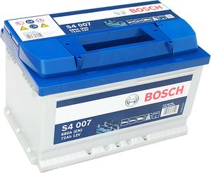 S4 007 Bosch Car Battery 12V 72Ah Type 100 S4007