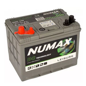 Numax 80Ah Leisure Battery DC24MF
