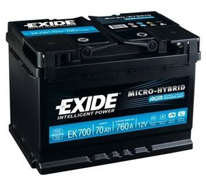 Exide Start Stop Battery EK700 (096)