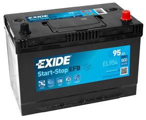 Exide Start Stop Battery EFB EL954 (249)