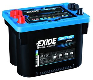 Exide Leisure Battery Dual AGM EP450