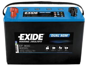 Exide Leisure Battery Dual AGM EP900