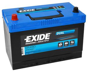 Exide Leisure Battery Dual ER450