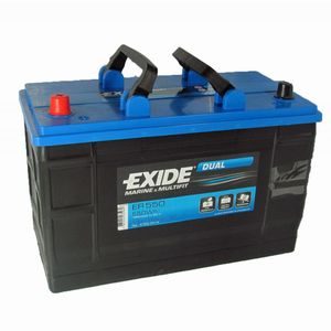 Exide Leisure Battery Dual ER550