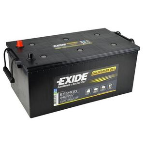 Exide Leisure Battery Equipment Gel ES2400