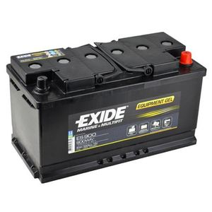 Exide Leisure Battery Equipment Gel ES900