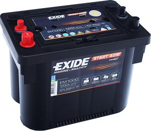 Exide Maxxima EM1000 Start AGM Battery (Max 900)