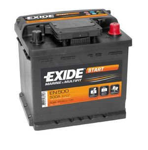 Exide EN500 Start Marine and Multifit Leisure Battery