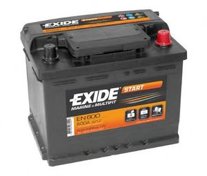 Exide EN600 Start Marine and Multifit Leisure Battery