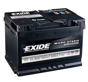 Exide Start Stop Battery EFB EL600 (027)