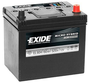 Exide Start Stop Battery EFB EL604 (005L)