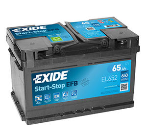 Exide Start Stop Car Battery EL652 (100)