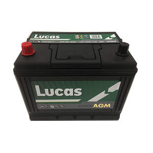 Lucas Fusion Start Stop AGM Car Battery LF069