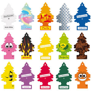 LITTLE TREES SHERBET LEMON CAR AIR FRESHENER