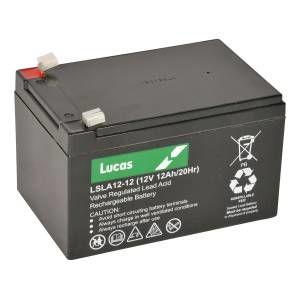 Lucas Sla 12v-12ah Mobility Battery