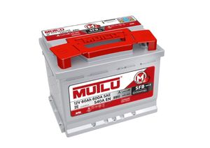Mutlu Car Battery Type 075