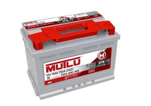 Mutlu Car Battery Type 100
