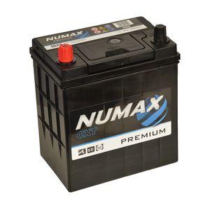 Numax Car Batteries NS40 / NS40Z / NS60 / 28B19R / 34B17/19R / 36B20R / 38B19R / 38B20R / 40B19R / 44B20R / TYPE 055