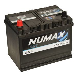 Numax Car Batteries NS70 / NX110S / LO7650 / 48D26L / 65D26R / 70D23R / 70D31R / 75D26R / 80D26R / TYPE 069