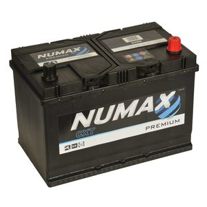 Numax Car Batteries N70L / N70ZL / NX120L / 65D31L / 75D31L / 95D31L / 105D31L/ TYPE 249H