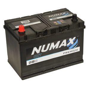 Numax Car Batteries N70 / N70Z / NX1207 / NX1207L / LO7653 / 65D31R / 75D31R / 95D31R / 105D31R/ TYPE 250H