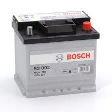 S3 002 Bosch Car Battery 12V 45Ah Type 079 S3002